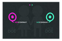 Not Only Couple Original Business Card
