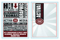 Typography Business Cards Bundle #7
