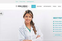 SoulMedic | Flat Responsive Medical & Health